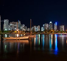 Gold Coast By Night by Andrew Bodycoat