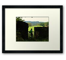 Small World Revisited Again Framed Print
