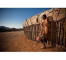 Samburu Boy Photographic Print