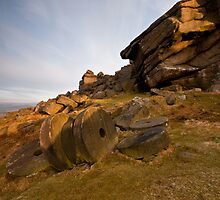 Stanage Edge Millstones by James Grant