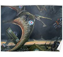 Billy Barker and Pterosaur Squadron Poster