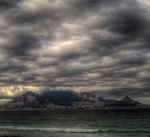 Moody Table Mountain by Gideon van Zyl
