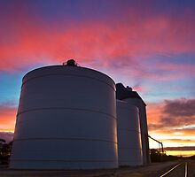 Silo Sunset by Matt Harvey