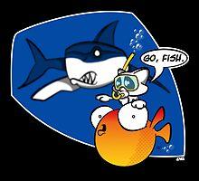 Go, Fish by jayveezed