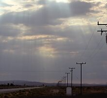 Route 58 at Boron, California by Chris Clarke