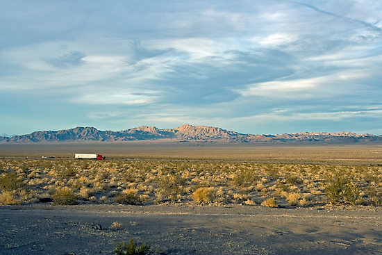 Cady Mountains, Ludlow, California by Chris Clarke
