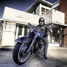 Biker by clydeessex
