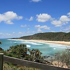 An Awesome Stretch of Beach in Queensland by aussiebushstick