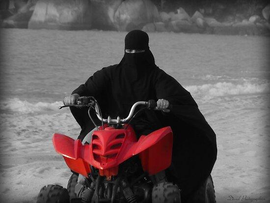 Unkown Rider by Luke Griffin