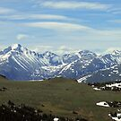 Above the Tree Line 2, RMN Park Colorado by David  Hughes