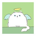 Persian Cat Angel by zoel