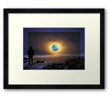 Another Place and Time Framed Print