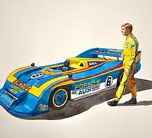 Mark Donohue and his 917/30 by Cameron Porter