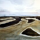 Wangerooge at low tide by Claudia Dingle