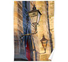 reflective light. Poster
