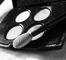 black and white eyeshadow. by mclephane