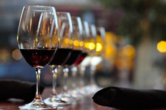Wine Tasting by Jeannie Peters