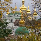 Golden Kiev-Pechersk Lavra by Maryna Gumenyuk