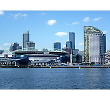 Melbourne from Docklands Photographic Print