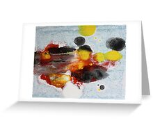 the search is over Greeting Card