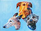 Holly, Red and Buddy! by Michael Haslam