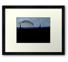 Blue Trim Framed Print