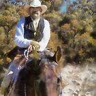 Trail Rider II by Rhonda Strickland
