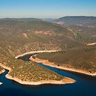 Rio Tejo at Monfrague National Park by Gabor Pozsgai