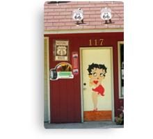 Betty Boop #2 Canvas Print