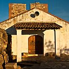 Chapel in Monfrague Castle by Gabor Pozsgai