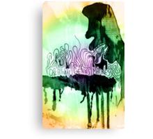 creativity | genius | madness Canvas Print