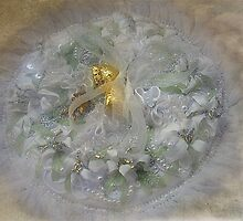 """""""The Wedding Ring Cushion..."""" by Rosehaven"""