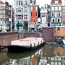 Gray Day Amsterdam by phil decocco