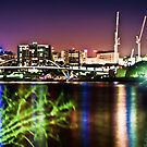 Brisbane City Lights by A.David Holloway
