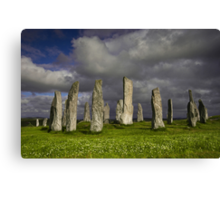 Callanish Stone Circle Canvas Print