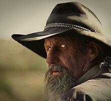 Gunslinger by Michael  Petrizzo