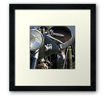 Norton Commando Tank Framed Print