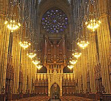 Lancing College Chapel West End by Dave Godden