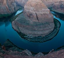 Horseshoe Bend Colorado River by mikewheels