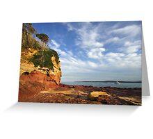 Bar Beach at Merimbula Greeting Card