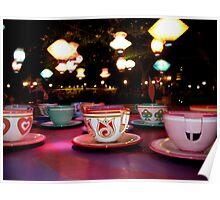 tea cups of delight Poster