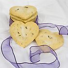Lavender Shortbread Biscuits by GourmetGetaways