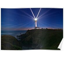 Pigeon Point's 24 Points of Light Poster