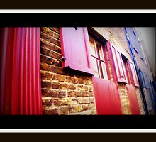 Doors and Windows of Brick Lane. London by fruitcake