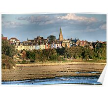 """""""Autumn in Alnmouth"""" Poster"""