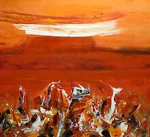 Red Earth-Western Australia  by Carollyn Rhodes-Thompson