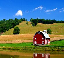 Red Barn by searchlight