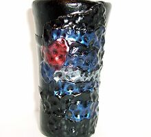 "Polymer ""Hammered Pride"" (Leather Logo) Shot Glass  by d2dzynes"
