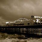 Brighton Pier by Urszula  Robinson