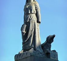 Maid of Erin Monument, Kilrush, Ireland. by Brian220
